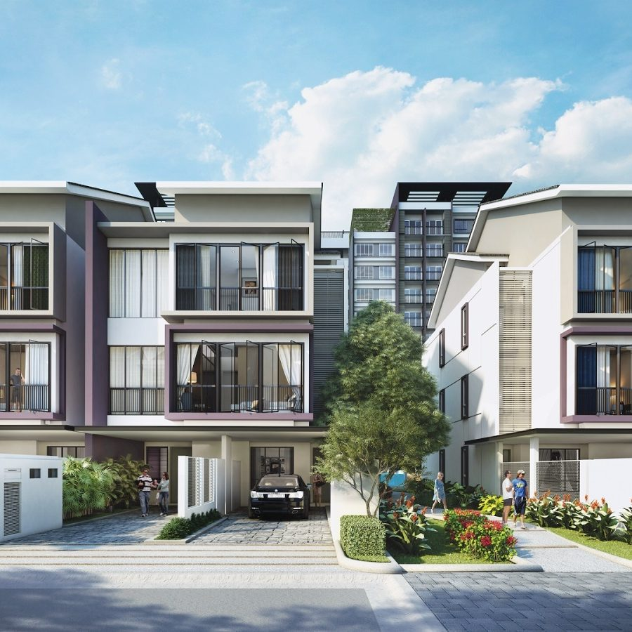 Townhouse, Cluster House, Superlink